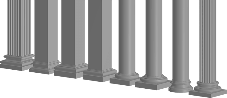 Foamworks Columns Architectural Decorative Lightweight Eps Foam Exterior Mouldings